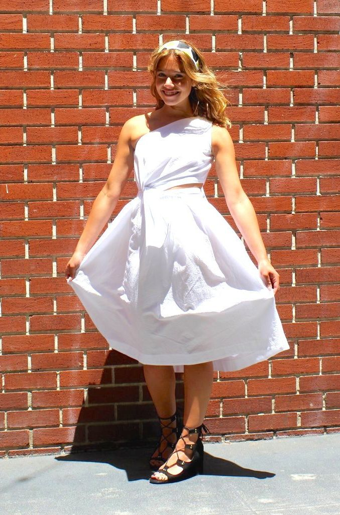 2018 Summer White Dresses (14)