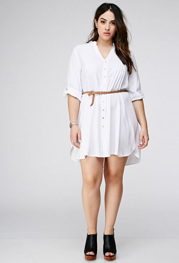 2018 Summer White Dresses (15)