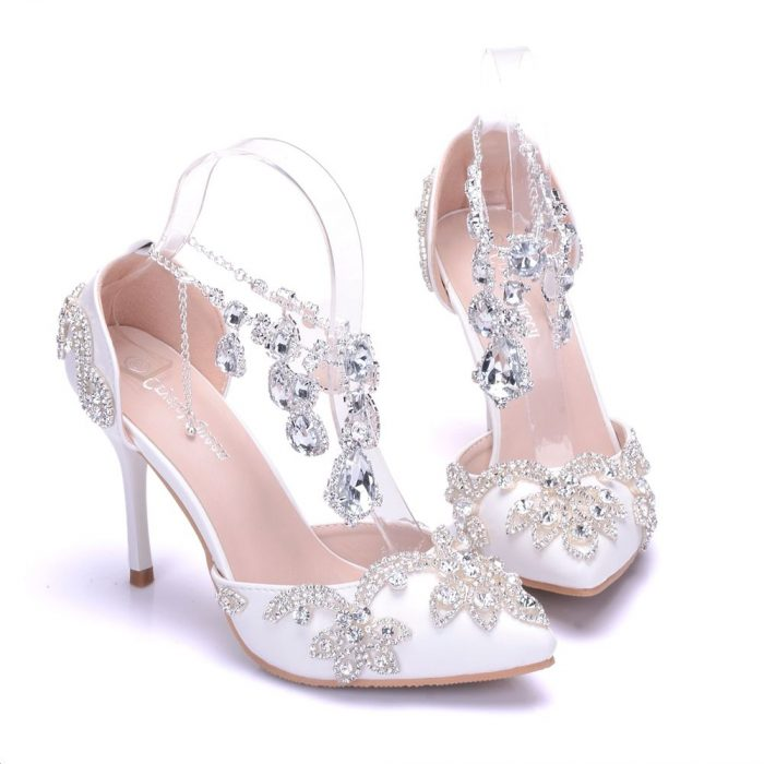 48689025da6d Unique Wedding Shoes For Women 2019 - StyleFavourite.com