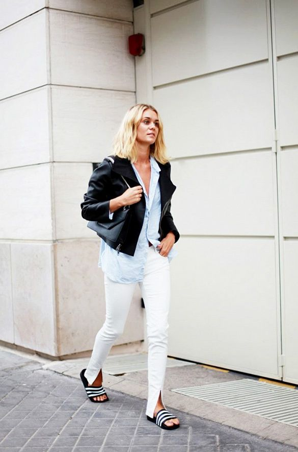 2018 White Pants For Women (1)