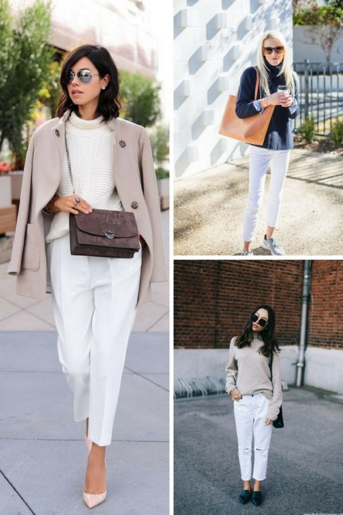 2018 White Pants For Women (14)