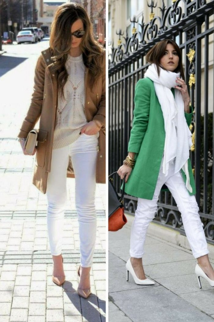 2018 White Pants For Women (18)
