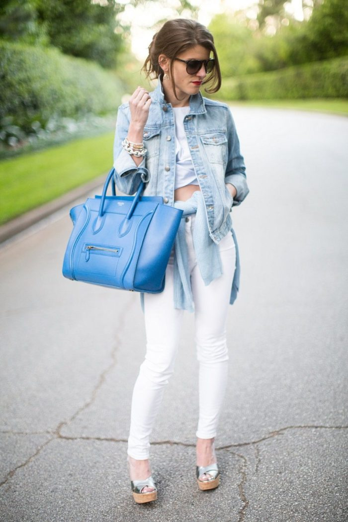 White Skinny Jeans For Women Best Street Style Inspo 2020