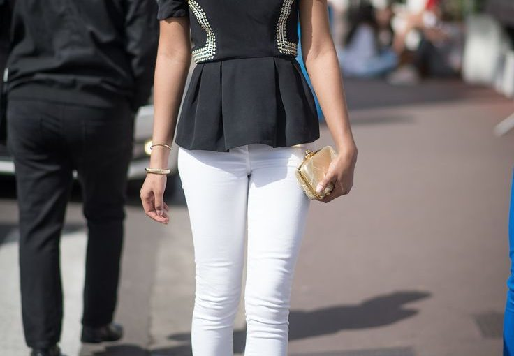 White Skinny Jeans For Women Best Street Style Inspo