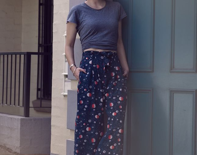 Women's Polished Looks With Billowy Trousers