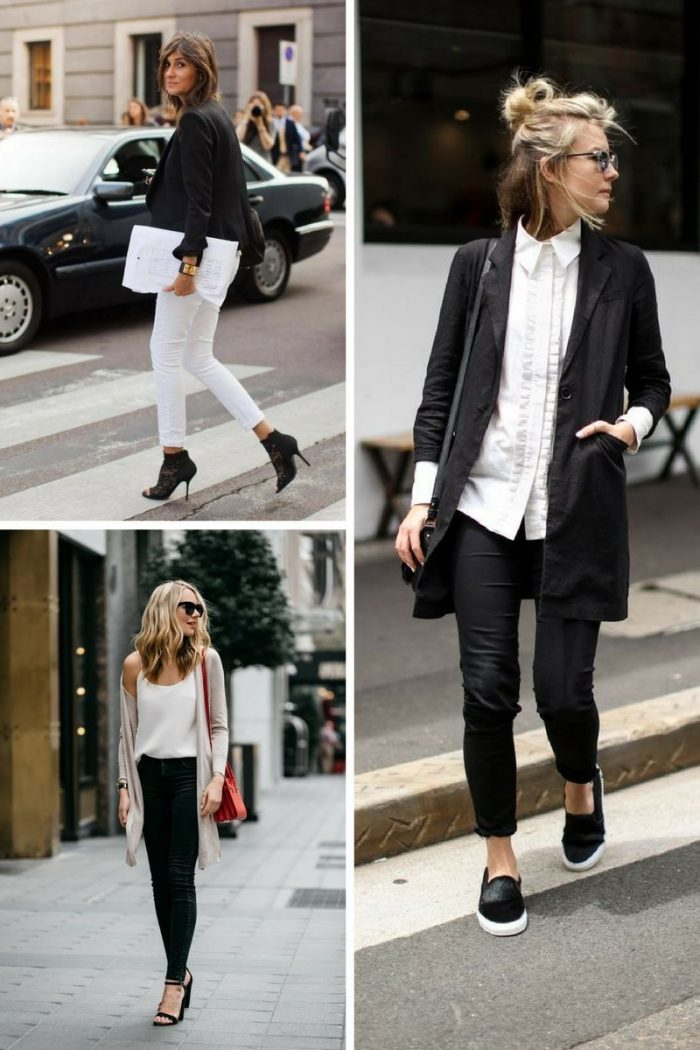Black And White Color Clothes For Women Summer 2018 (3)