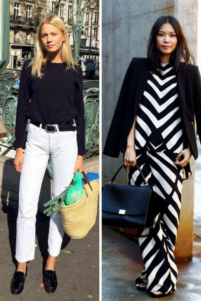 Black And White Color Clothes For Women Summer 2018 (5)