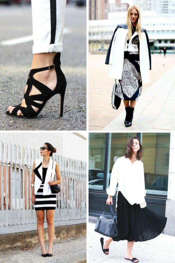 Black And White Color Clothes For Women Summer 2018 (8)