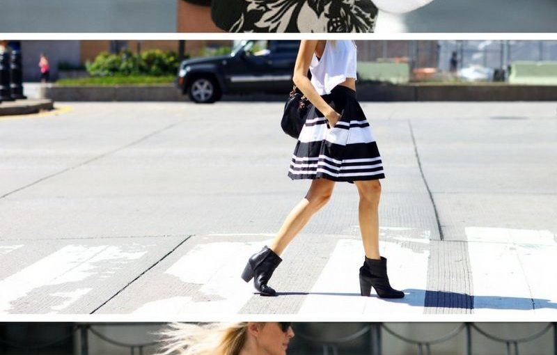 Black and White Clothes For Summer