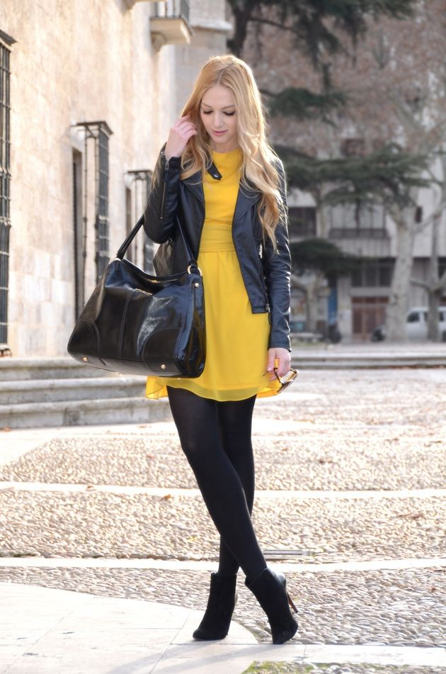 Black Clothes With Other Colors For Women 2018 (31)