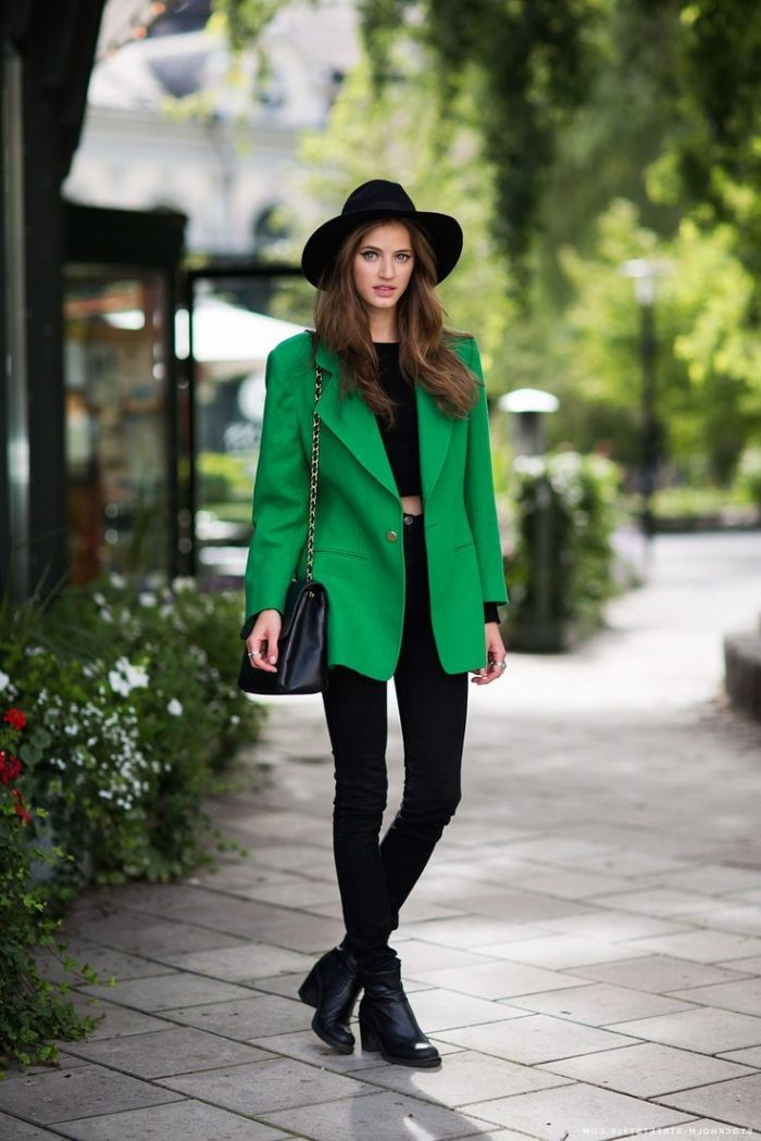 Black Clothes With Other Colors For Women 2018 (4)