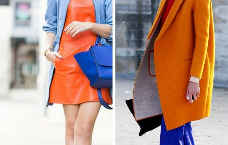 Orange and Blue Clothes Best Combinations For Women