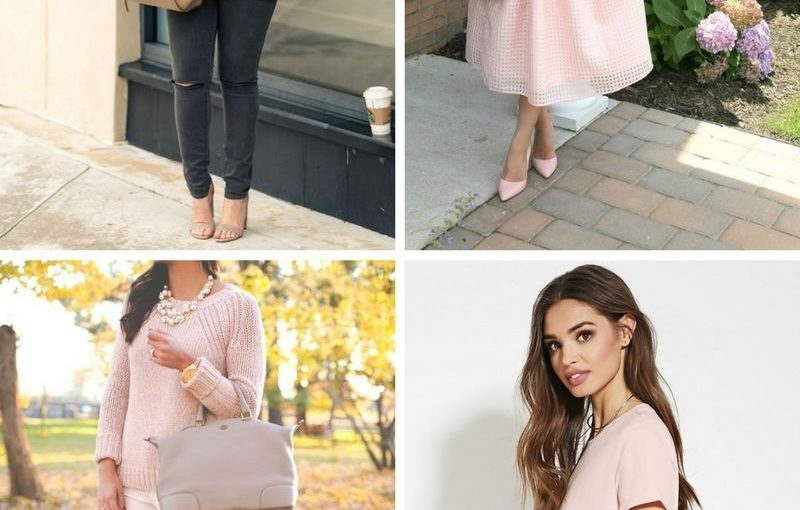 Blush Colored Clothing To Make A Statement