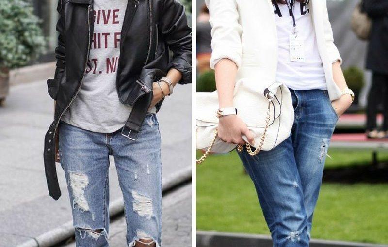 Boyfriend Jeans For Women 2018 Simple Street Walks (1)