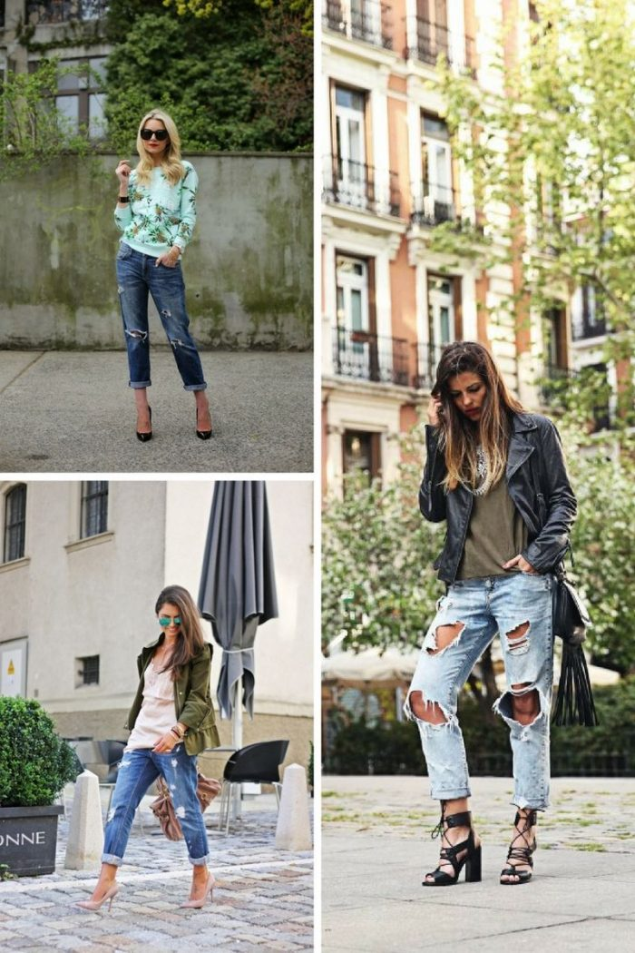 Boyfriend Jeans Fashion Looks 2019