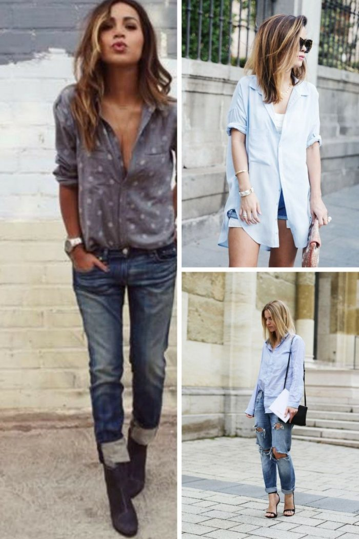 Boyfriend Shirts For Women 2019
