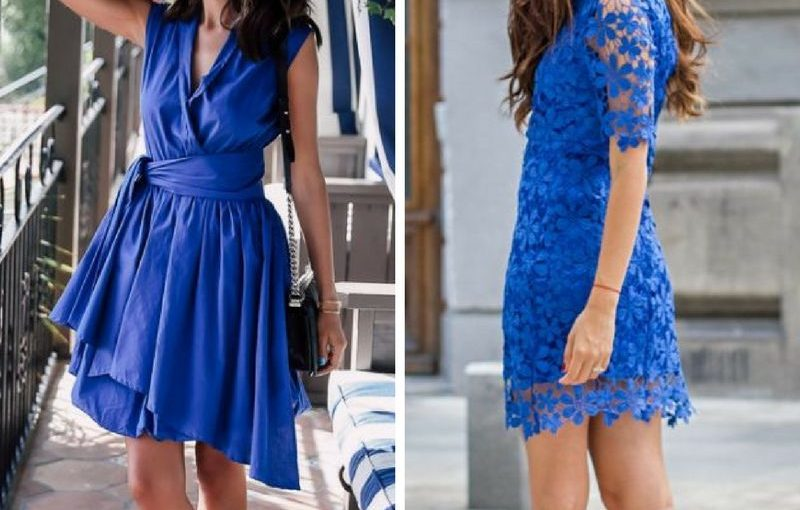 Cobalt Blue Clothes For Women