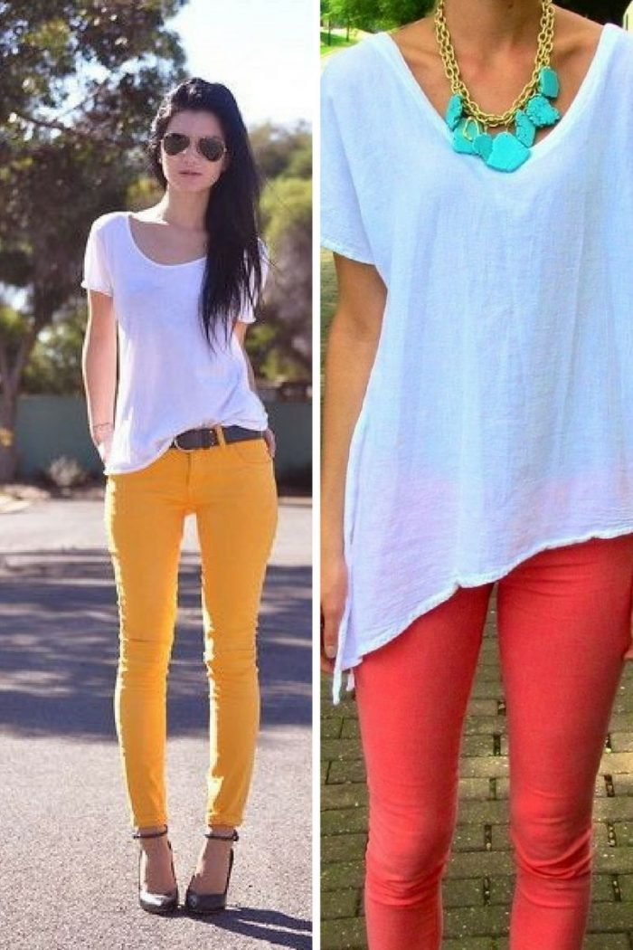 Colored Pants For Women 2018 (1)