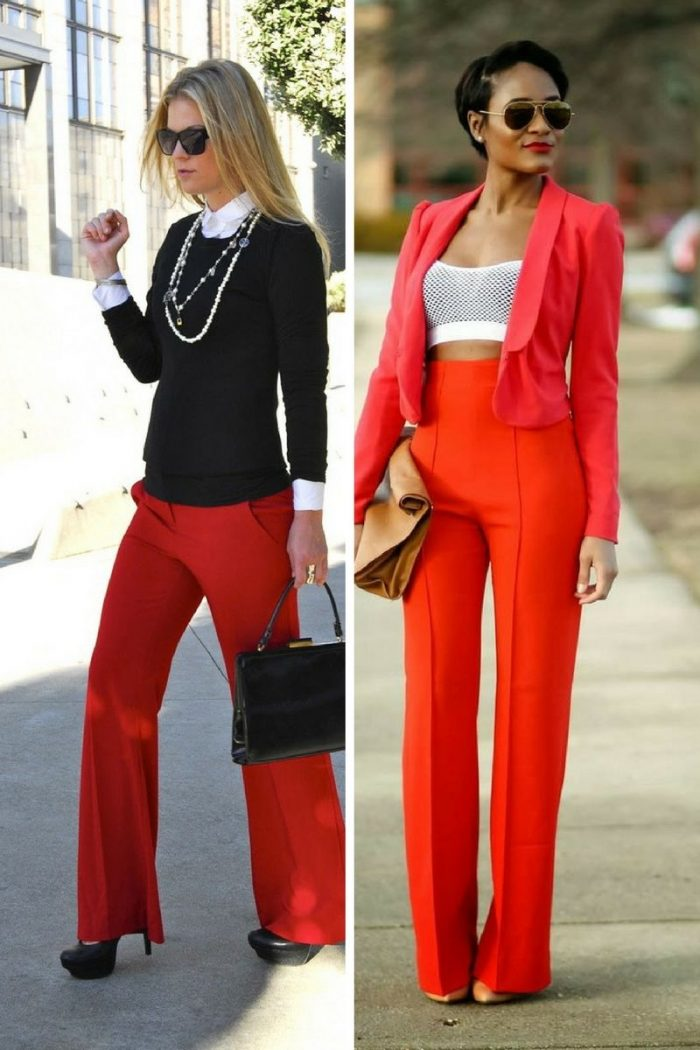 Colored Pants For Women 2018 (4)