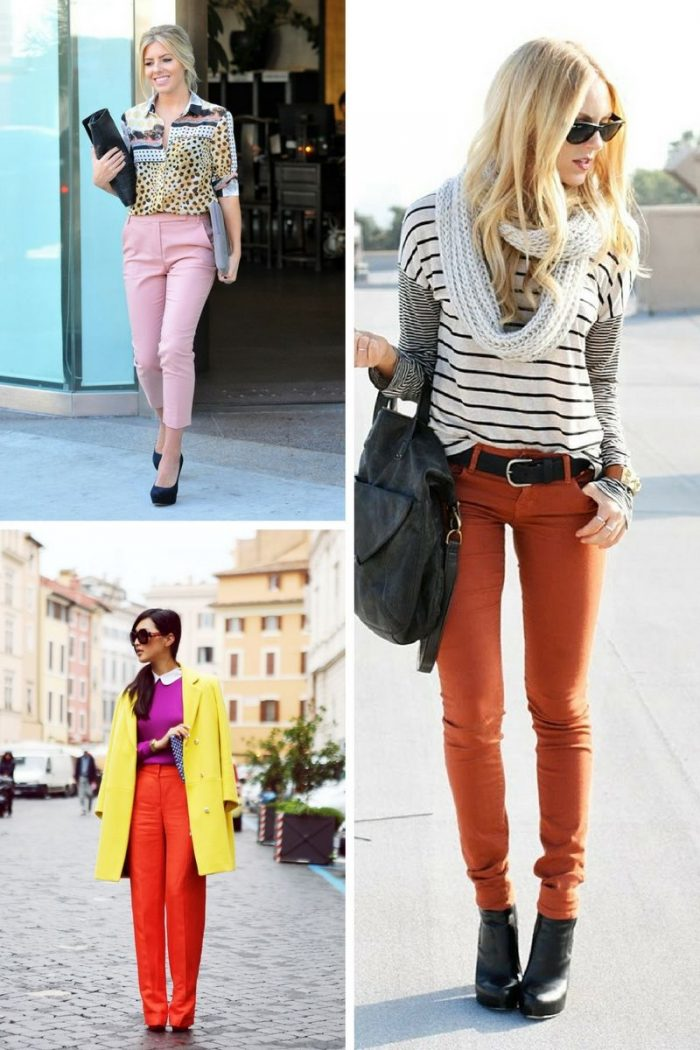 Colored Pants For Women 2018 (5)