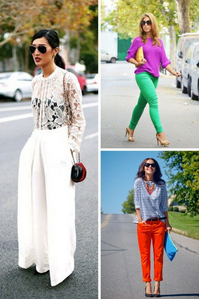 Colored Pants For Women 2018 (6)