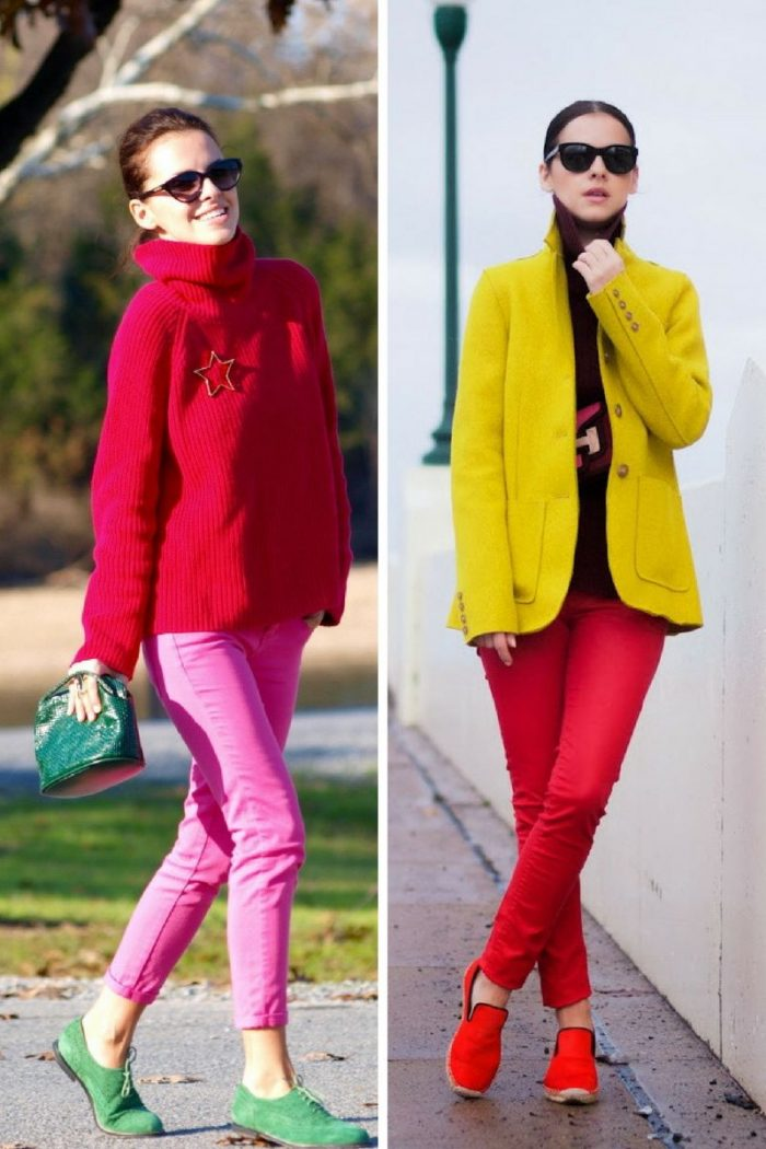 Colored Pants For Women 2018 (7)