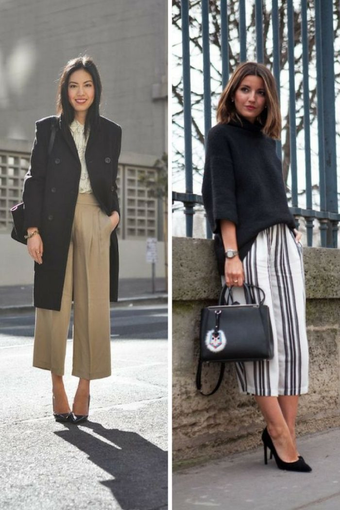 Culottes For Women 2018 Simple Street Style (1)