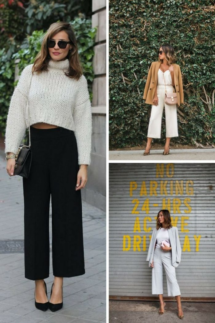 Culottes For Women 2018 Simple Street Style (2)