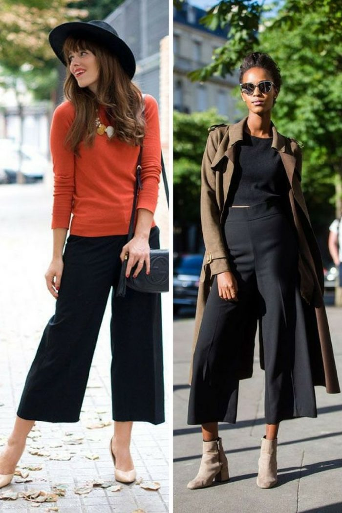 Culottes For Women 2018 Simple Street Style (4)