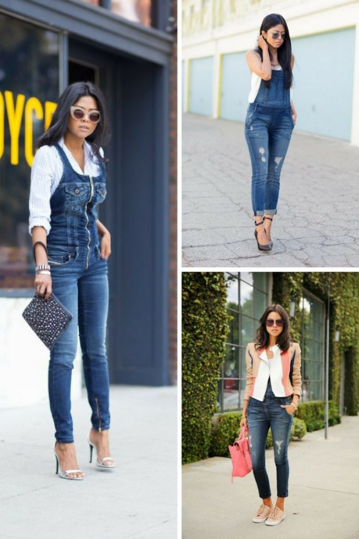 Denim Overalls 2018 Street Style Ideas (2)