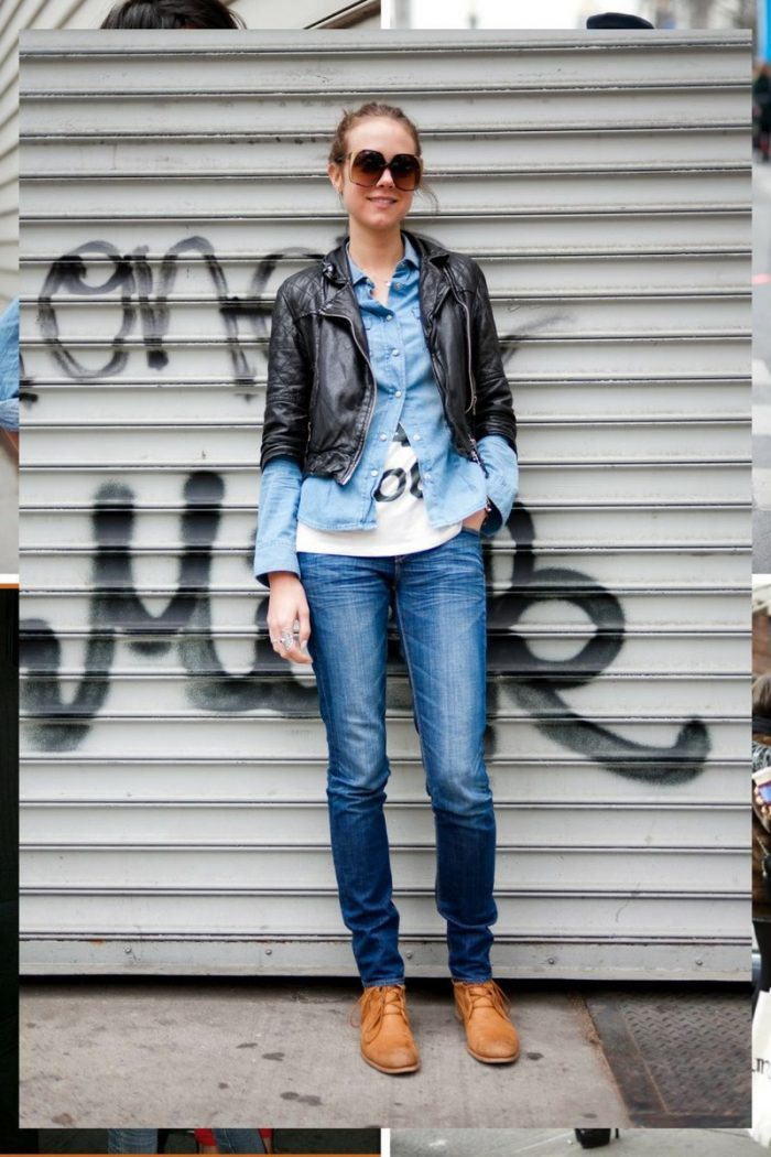 Double Denim Trend For Women 2018 (10)