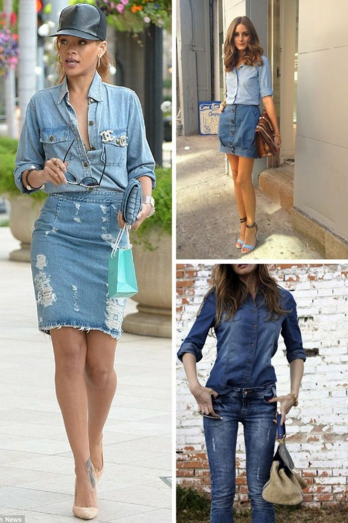 Double Denim Trend For Women 2018 (11)
