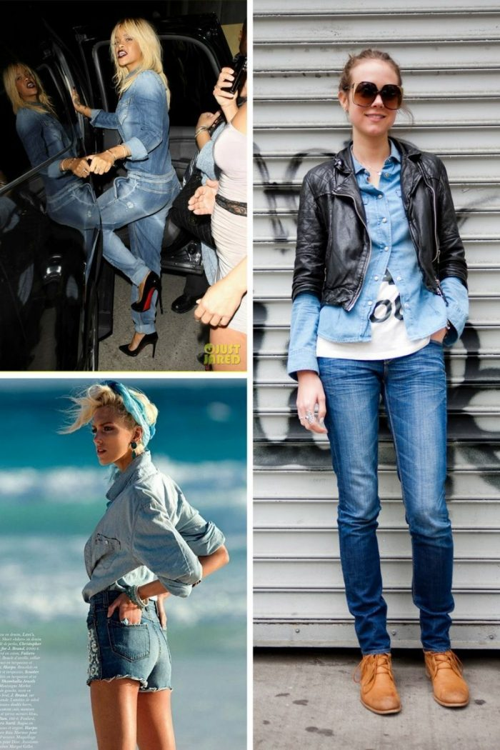 Double Denim Trend For Women 2018 (12)