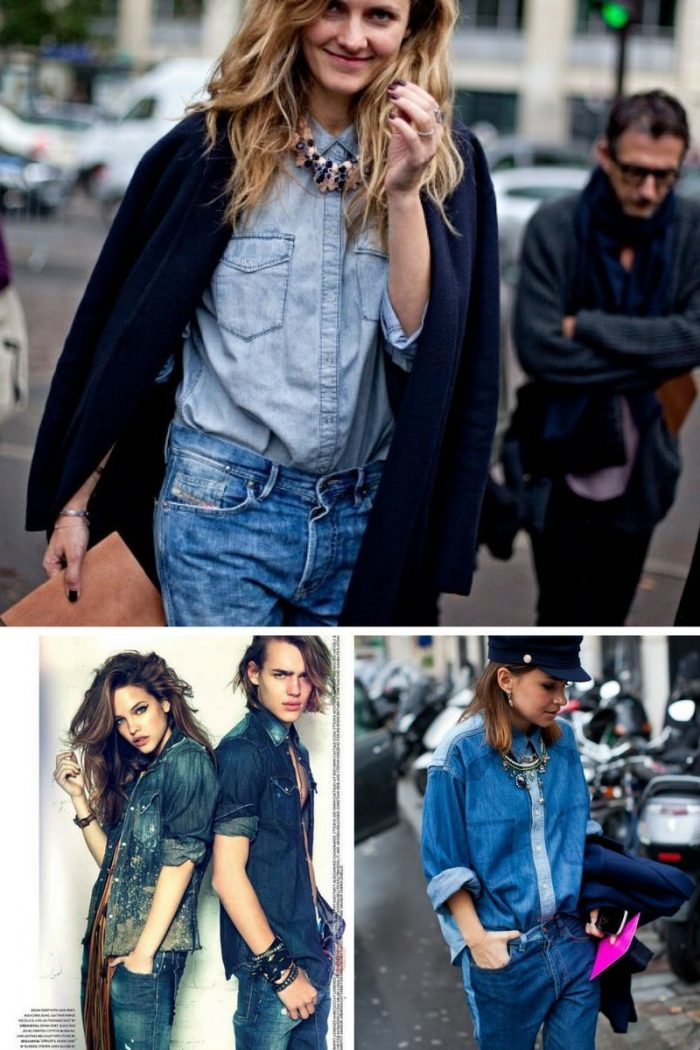 Double Denim Trend For Women 2018 (2)