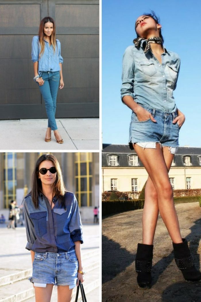 Double Denim Trend For Women 2018 (3)