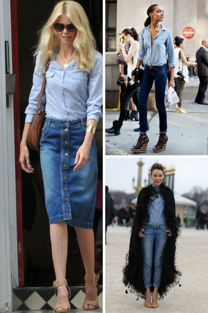 Double Denim Trend For Women 2018 (4)