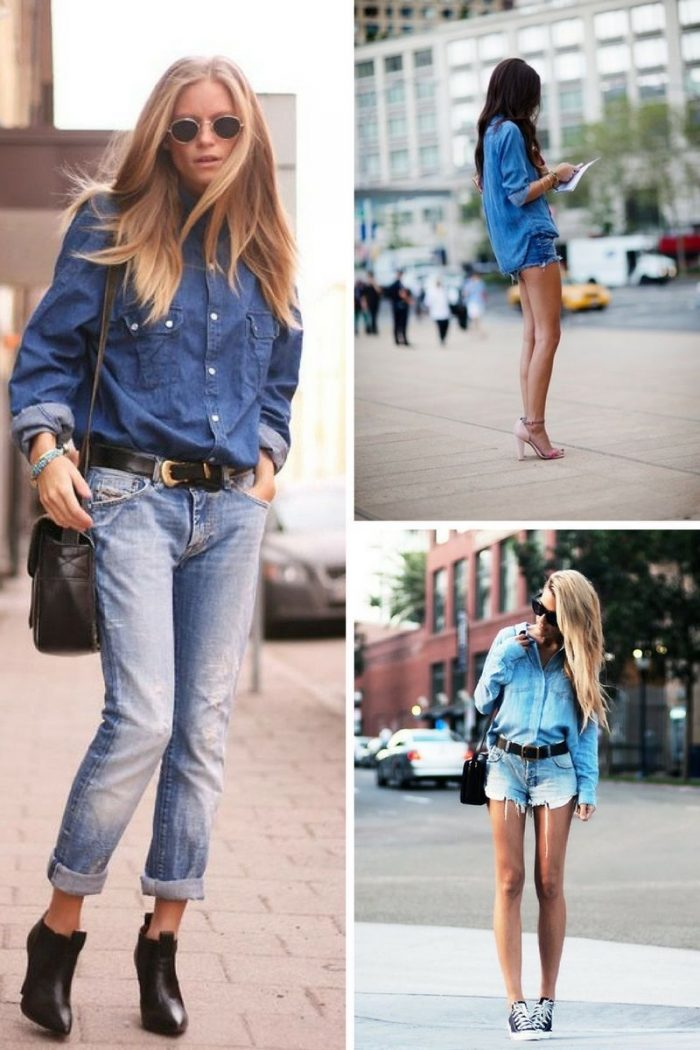 Double Denim Trend For Women 2018 (6)