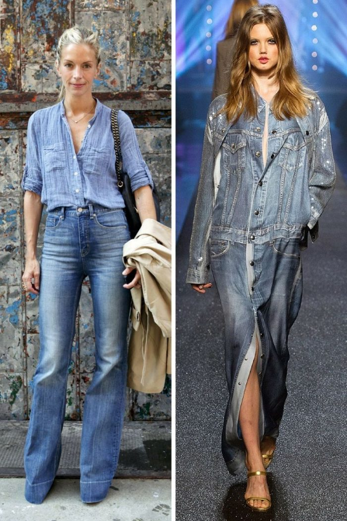 Double Denim Trend For Women 2018 (7)