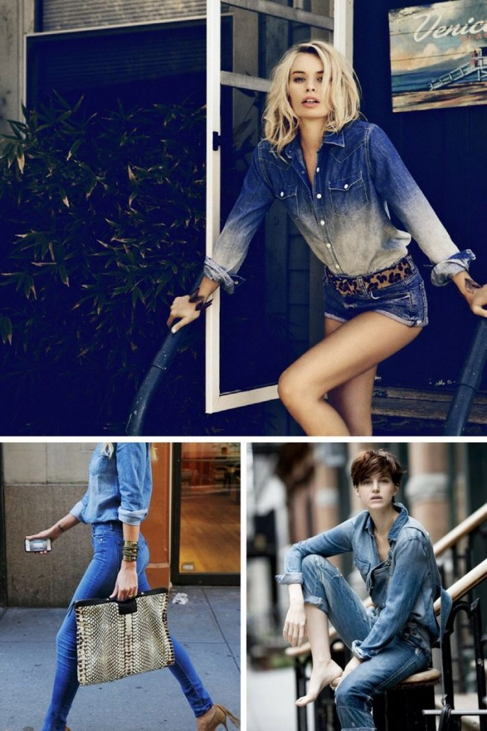 Double Denim Trend For Women 2018 (8)