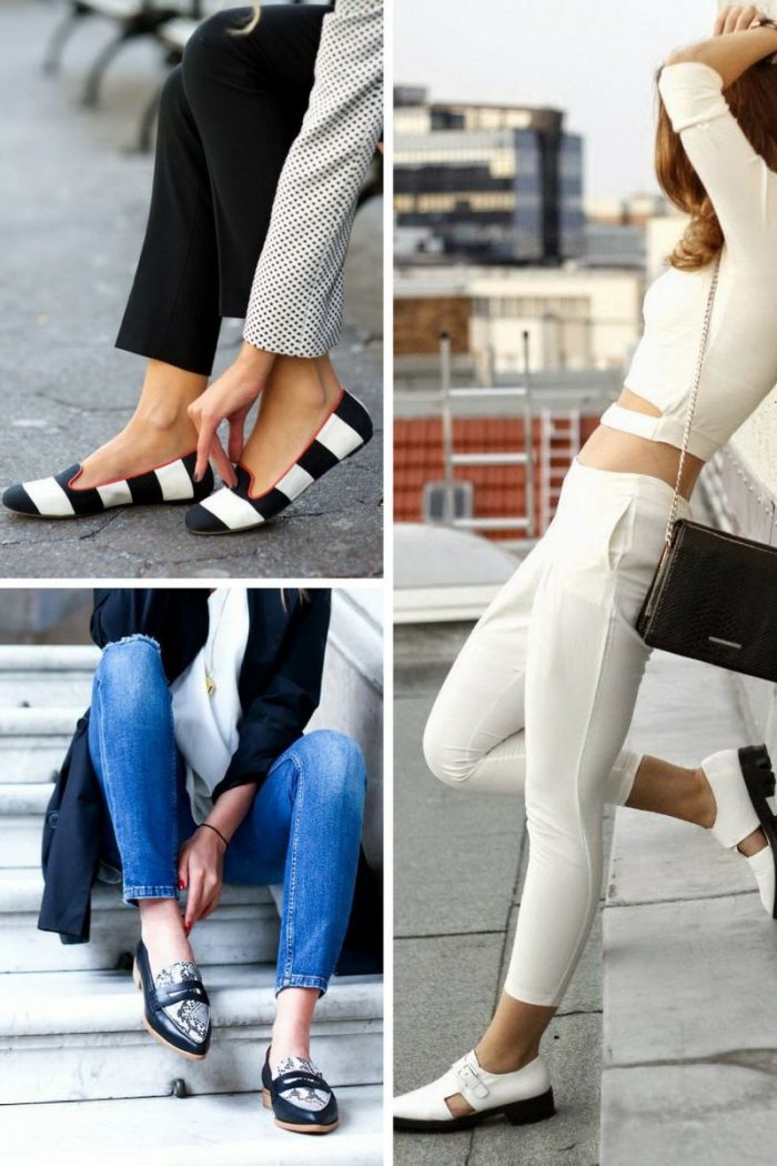 e98ed3ebebbe Flat Shoes For Women Best Street Style Looks 2019 - StyleFavourite.com
