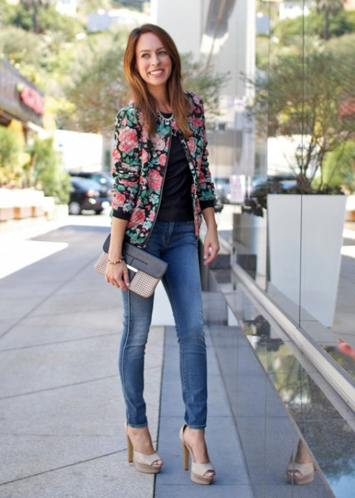 Winter Floral Print Dresses And Pants 2019