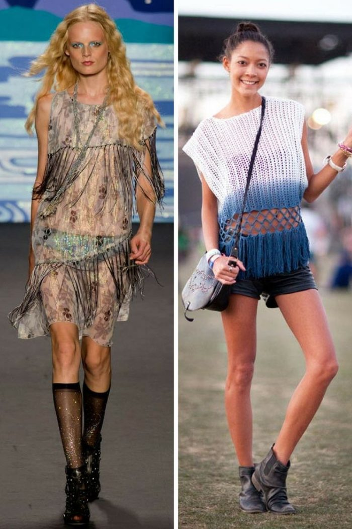 Fringes Fashion Trend 2019
