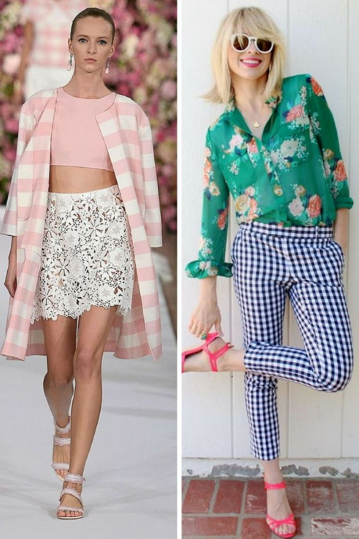 Gingham Print Apparel For Women 2019