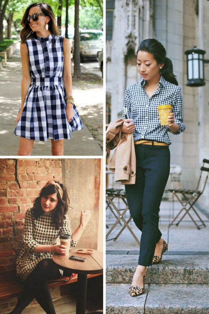Gingham Print For Women 2018 (5)