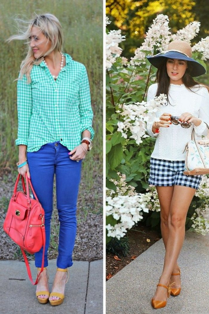 Gingham Print For Women 2018 (7)