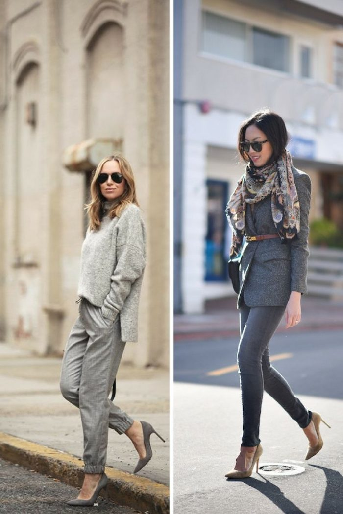 Grey Clothes For Work Professional Trends 2019