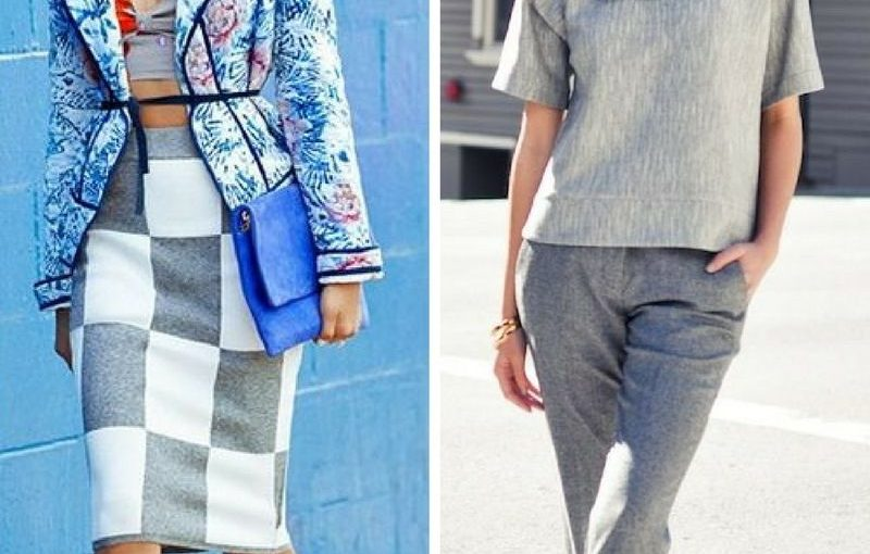 Grey Color Clothes For Women 2018 (1)