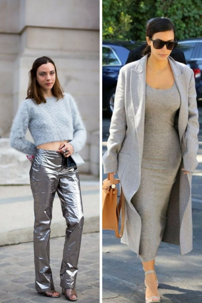Grey Color Clothes For Women 2019