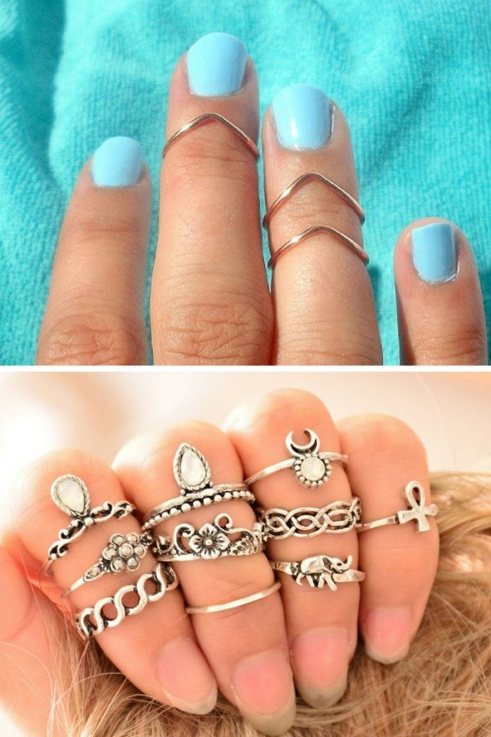 Knuckle Rings For Women Summer 2018 (4)