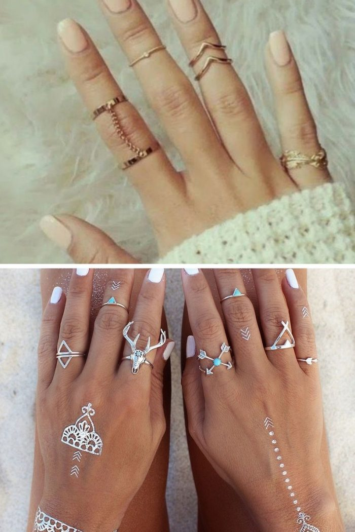 Knuckle Rings For Women Summer 2018 (6)
